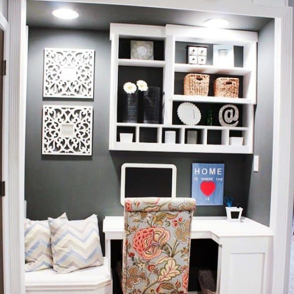 Home Ideas Closet Office