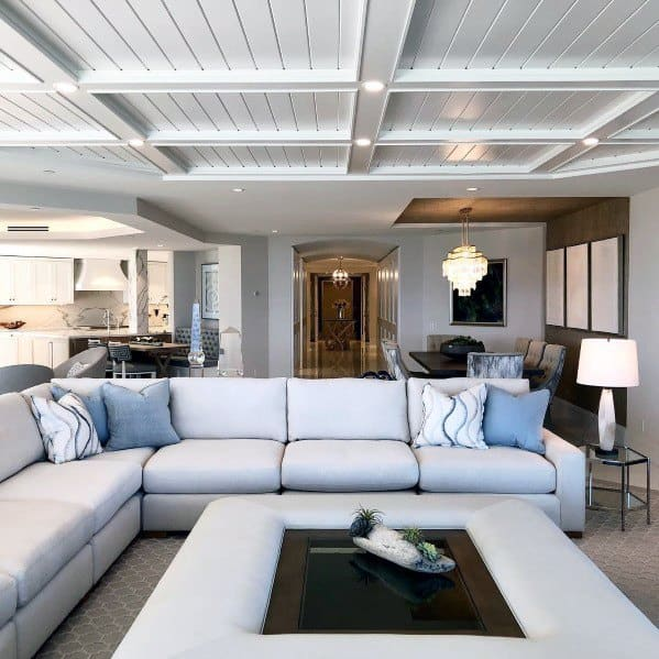 Home Ideas Coffered Ceilings