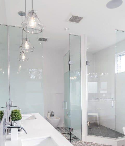 Home Ideas Corner Shower
