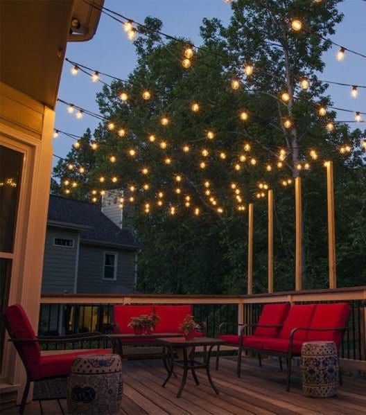 Home Ideas Deck Lighting Globe String Lights
