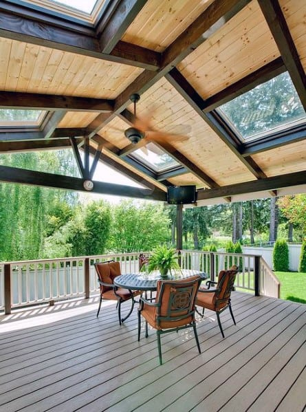 Home Ideas Deck Roof