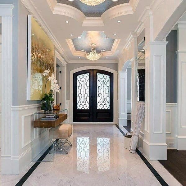 Top 50 Best Entryway Tile Ideas