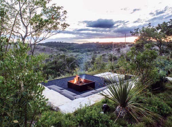 Home Ideas Fire Pit Landscaping