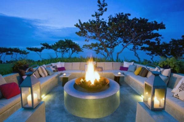 Home Ideas Fire Pit Seating