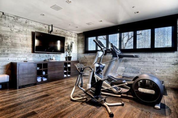 Home Ideas Home Gym Floorings