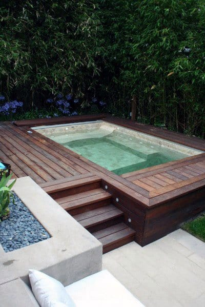 Home Ideas Hot Tub Deck