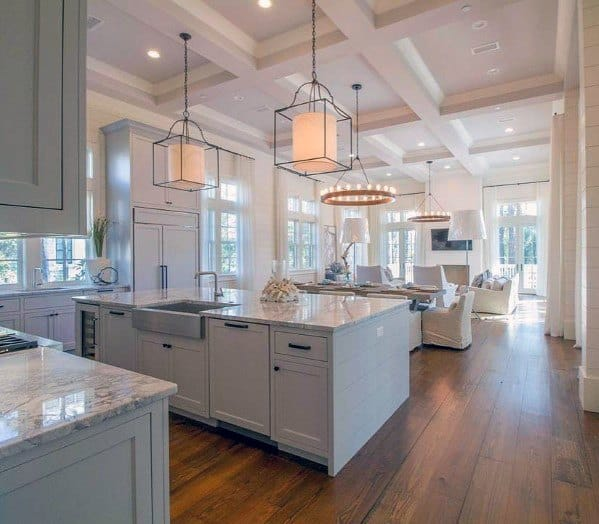 Top 75 Best Kitchen Ceiling Ideas Home Interior Designs