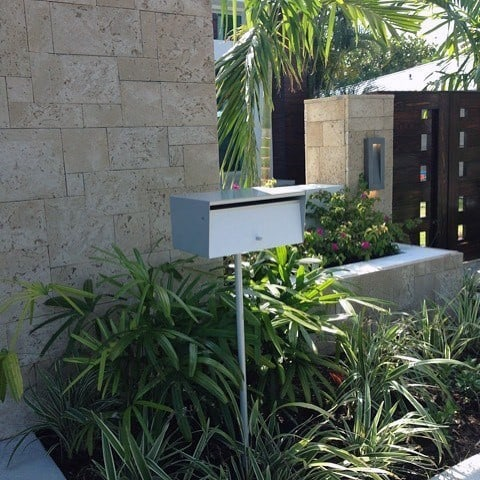 Home Ideas Mailbox Landscaping