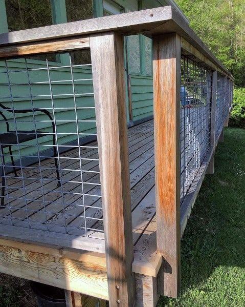 Home Ideas Metal Deck Railing Steel Wire Mesh