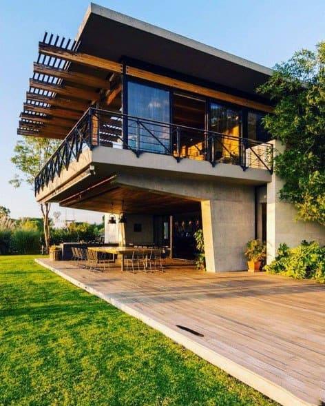 Home Ideas Modern Deck