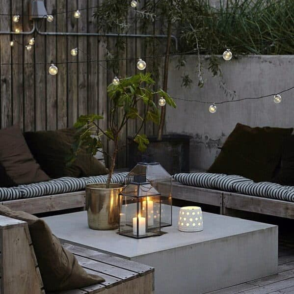 Home Ideas Patio String Light