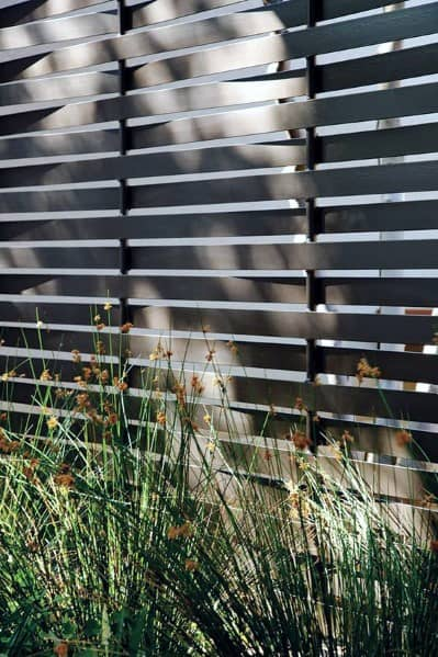 Home Ideas Privacy Fence Contemporary Metal Designs