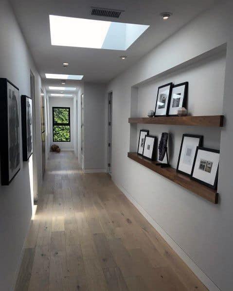 Top 40 Best Recessed Wall Niche Ideas - Interior Nook Designs