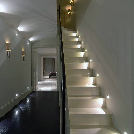 Staircase Ideas For Your Hallway That Will Really Make An: Top 60 Best Staircase Lighting Ideas