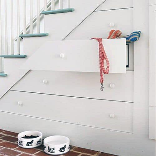 Home Ideas Under Stairs Dog Storage Cabinets