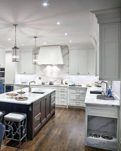 Home Ideas White Kitchens
