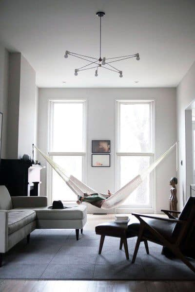 Home Indoor Hammock Ideas