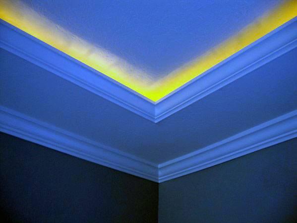 Home Interior Crown Molding Lighting