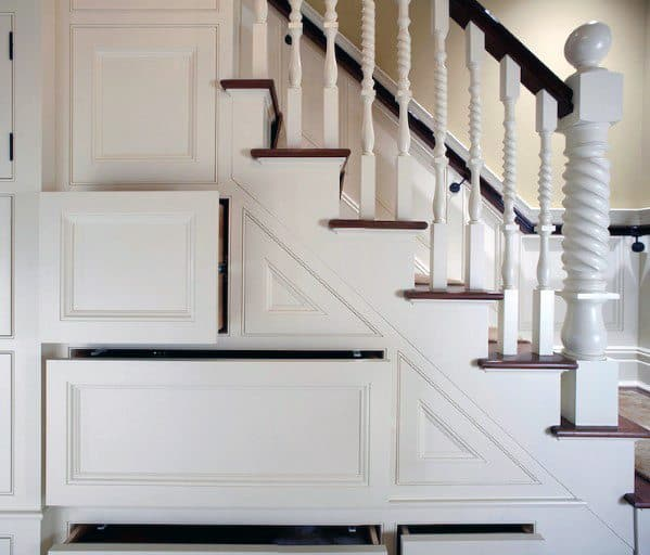 Top 70 Best Painted Stairs Ideas: Top 70 Best Basement Stairs Ideas