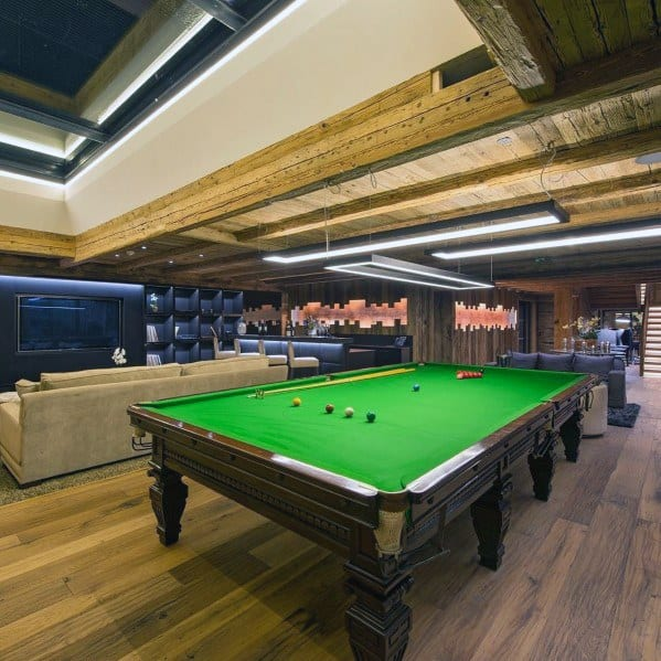 Home Interior Designs Billiards Room