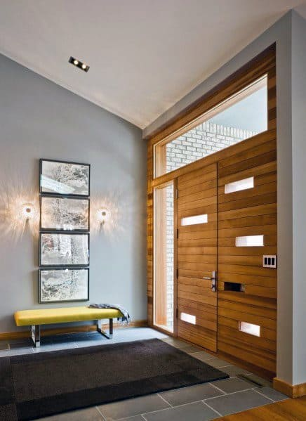 Home Interior Designs Entryway Tile