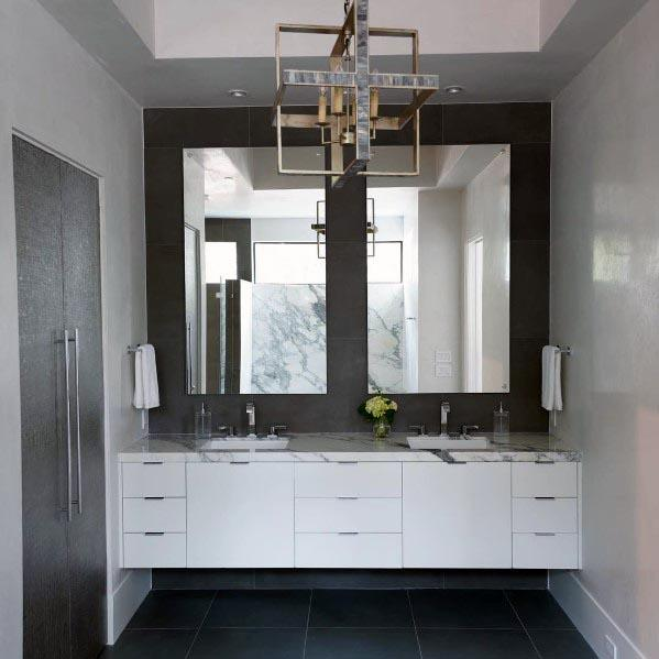 Home Interior Designs Grey Bathroom