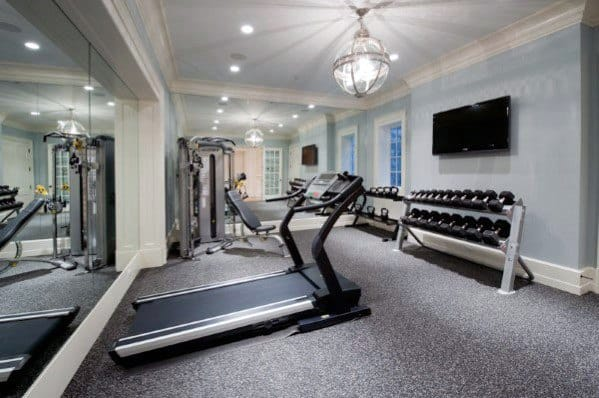 Home Interior Designs Home Gym Flooring