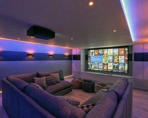 Home Interior Designs Home Theater Lighting
