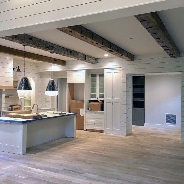 Top 75 Best Kitchen Ceiling Ideas - Home Interior Designs