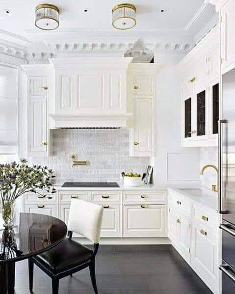 Home Interior Designs Kitchen Tile Floor