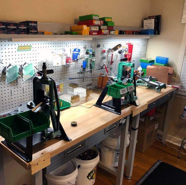 Home Interior Designs Reloading Bench