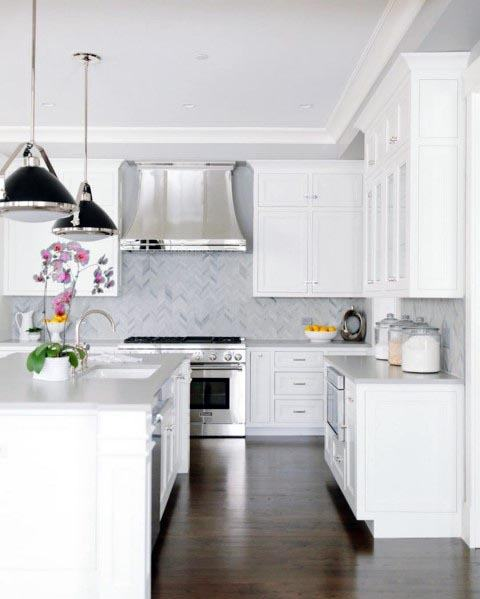 Home Interior Designs White Kitchen