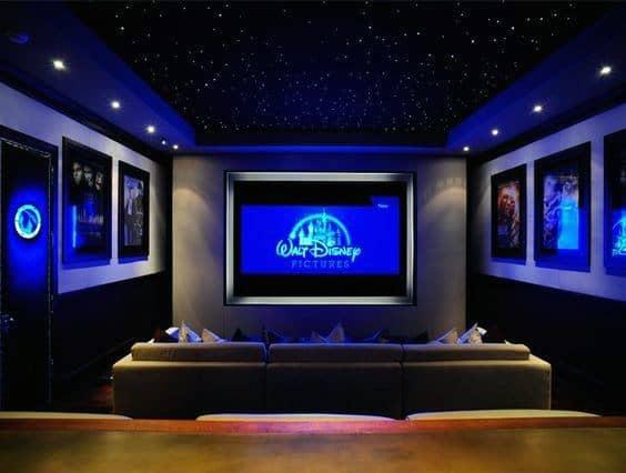 Home Interior Theater Lighting