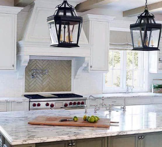 Home Interior Kitchen Hood