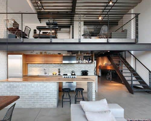 Home Interior Loft Design Ideas