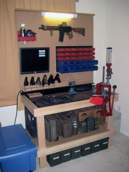 Home Interior Reloading Bench