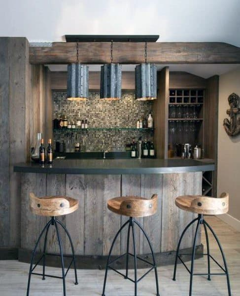 Home Interior Wet Bar Design Ideas