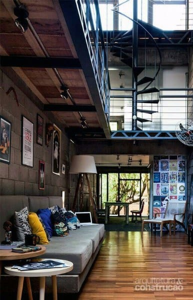 Home Loft Design Idea Inspiration