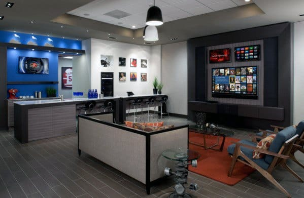 Home Man Cave Cool Design Ideas For Guys