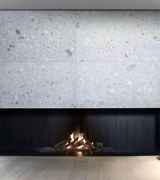 Home Modern Fireplace Designs
