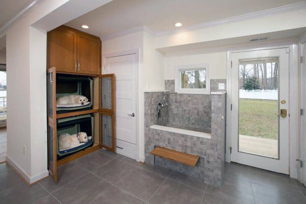 Home Mudroom Dog Wash Ideas