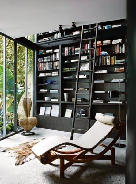 Home Office Bookshelf Ideas