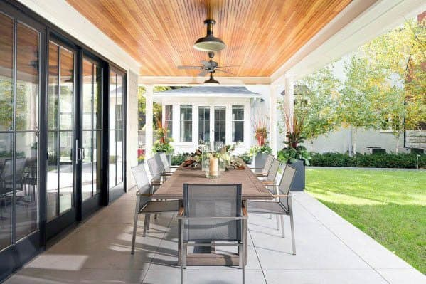 Home Outdoor Designs Patio Ceiling