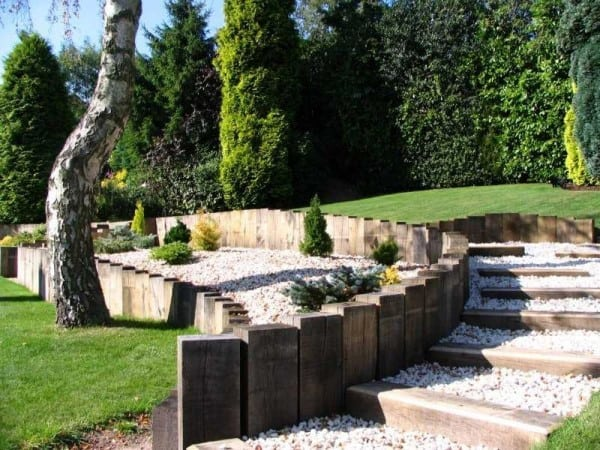 Home Outdoor Retaining Wall Ideas