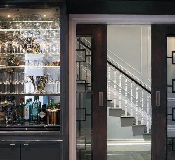 Home Pocket Door Ideas Dining Room