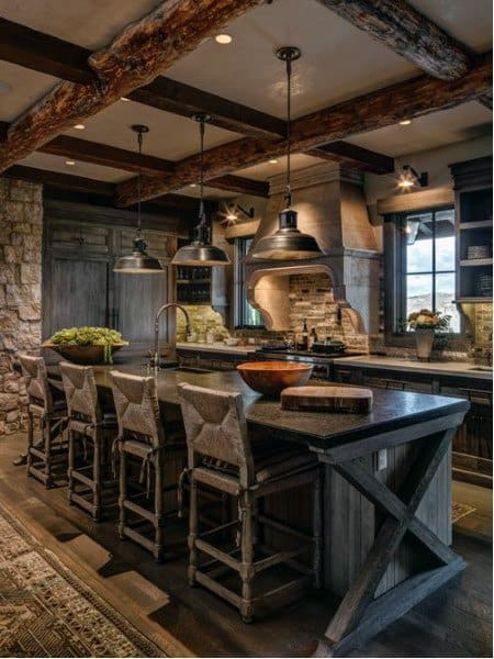 Home Rustic Kitchen Ideas