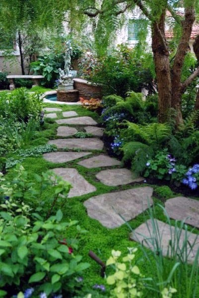 Home Stone Walkway Ideas