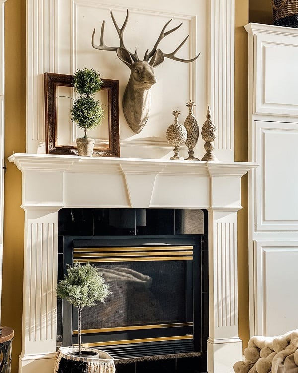 Home Style Fireplace Mantel Decor My Sweet Dream 222