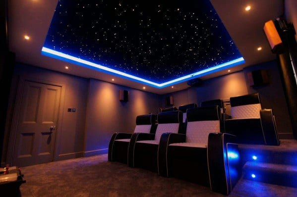 Home Theater Lighting Design Idea Inspiration Ceiling Leds