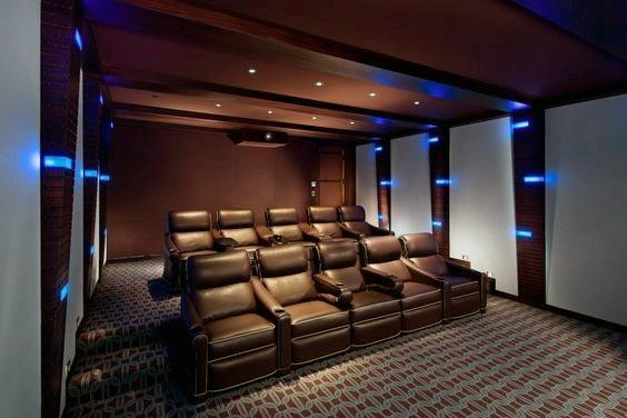 Home Theater Lighting Design Inspiration